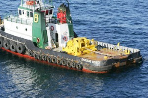 Towing Winch and Controls for Bisso Marine