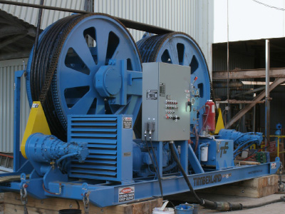 Rope Installation, Tensioning & Winding